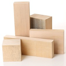 Mixed Lime Carving Blanks - large pack