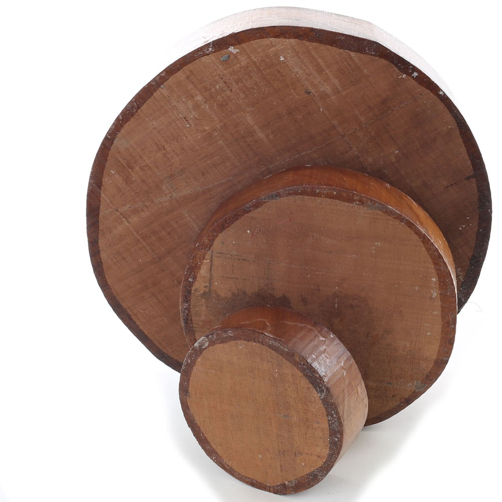 Iroko Bowl Blanks 27mm thick