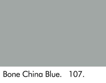 Bone China Blue