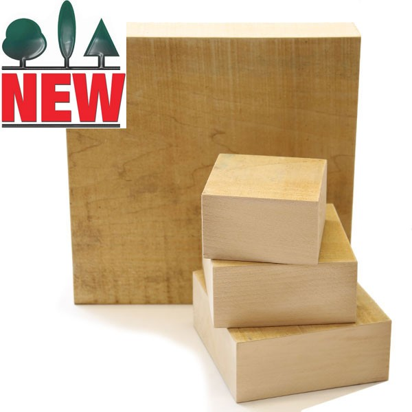 Lime Carving Blanks, 60mm thick, Sawn, Square