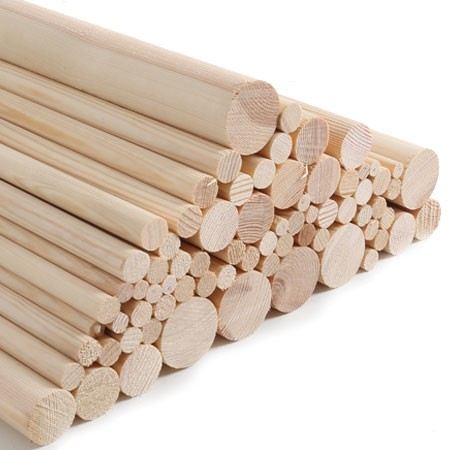 Redwood Pine Dowels