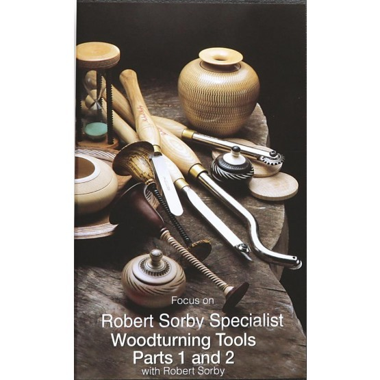 Focus on Specialist Woodturning Tools Parts 1 and 2 DVD
