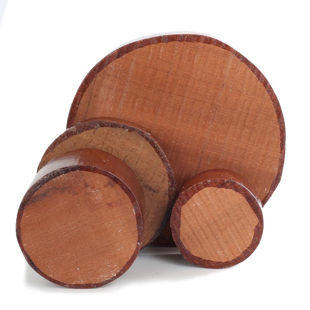 Sapele Bowl Blanks 78mm thick