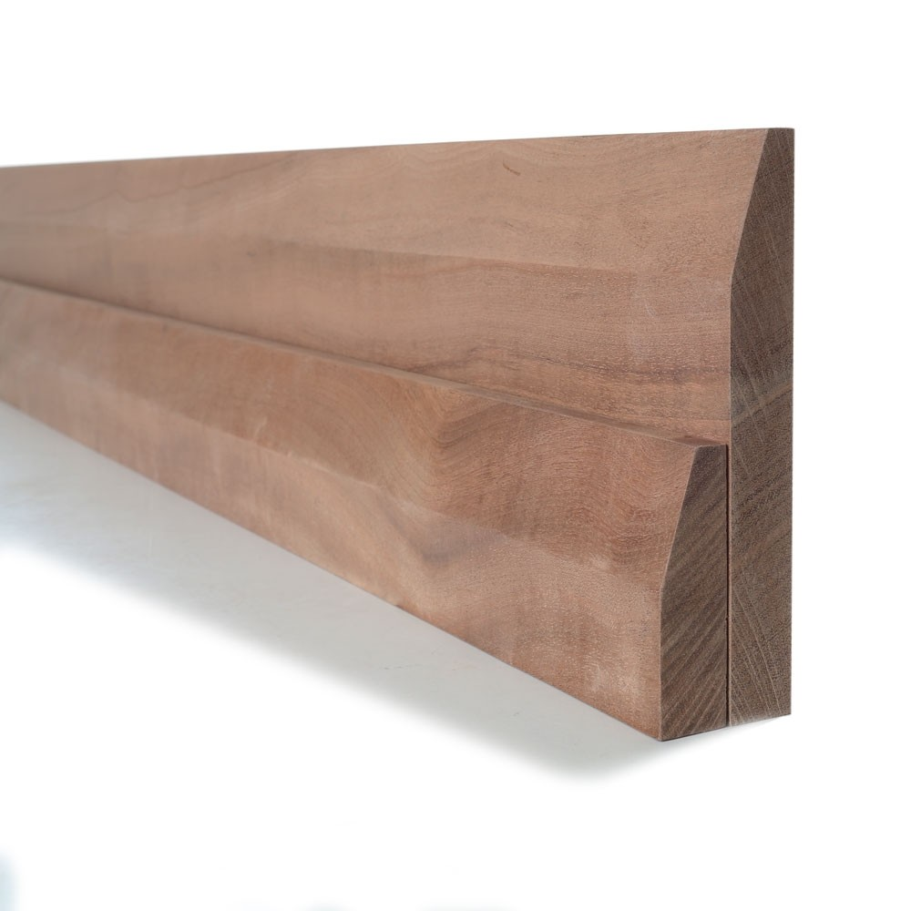 Sapele Chamfered Skirting and Architrave