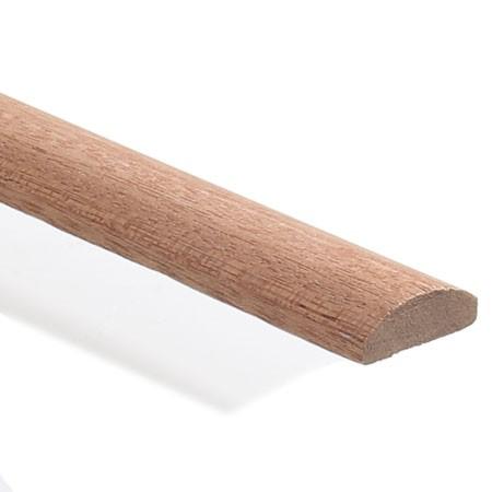 Sapele D-shape moulding