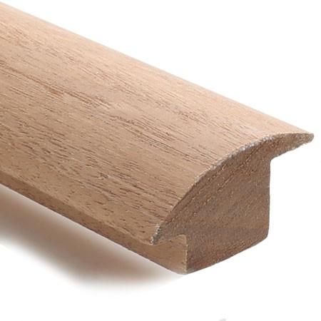 Sapele Threshold Floor to Carpet Reducer