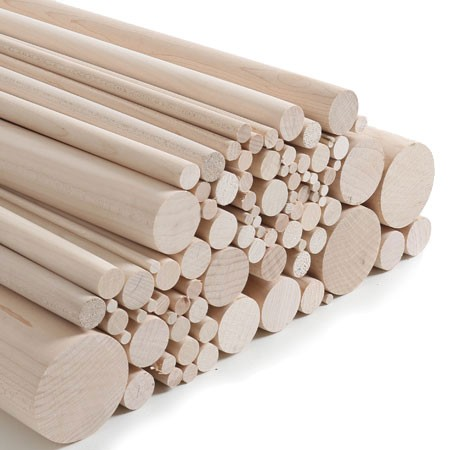 Sycamore Dowels