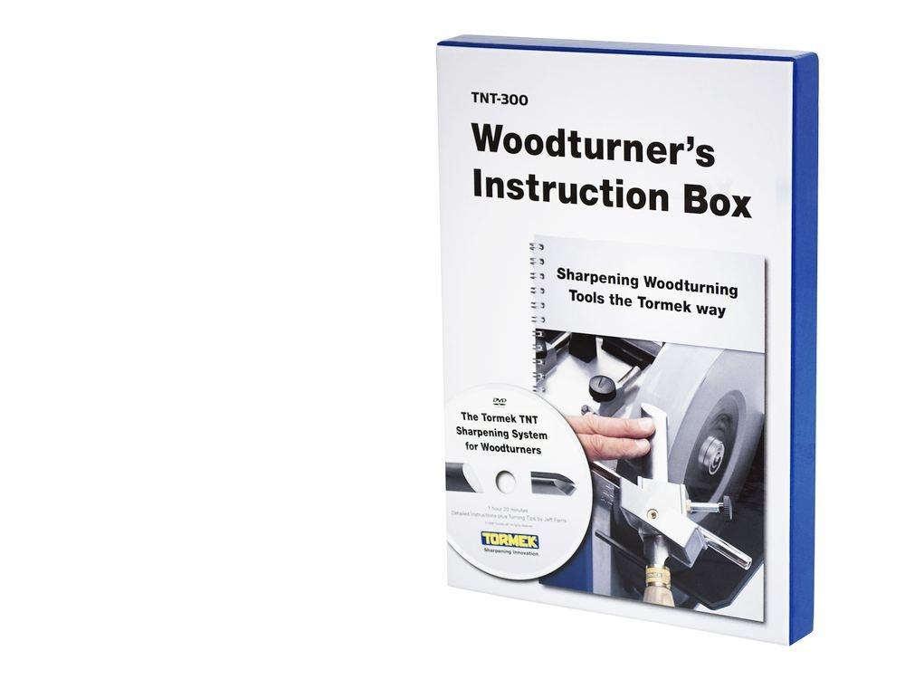Tormek TNT-300 Woodturners Instruction Box
