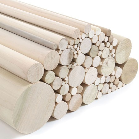 Tulipwood Dowels