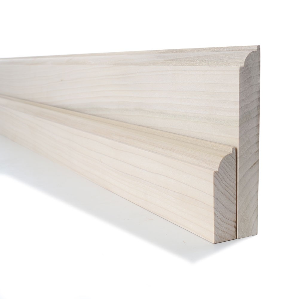Tulipwood Ovolo Skirting and Architrave