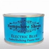 Hampshire Sheen Electric Blue Embellishing Wax