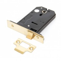"From The Anvil Polished Brass 5"" 3 Lever Horizontal Latch"