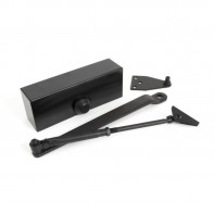 From The Anvil Door Closer and Cover, Size 3, 60kg, Black