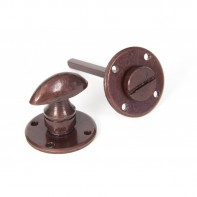 From The Anvil Bronze Round Bathroom Thumbturn