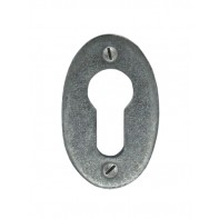 From The Anvil Pewter Oval Euro Escutcheon