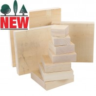 Lime Carving Blanks, 40mm thick, Sawn, Square