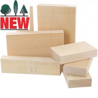 Lime Carving Blanks, 40mm thick, Sawn, Rectangles