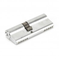 From The Anvil Satin Chrome 35/45 5pin Euro Cylinder KA
