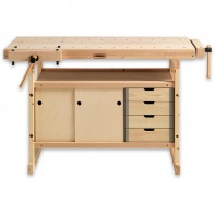 Sjobergs Hobby Plus 1340 Bench & 0042 Storage Module