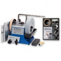 Tormek T-4 Water Cooled Sharpening System with TNT-708 Woodturner's Accessory Kit