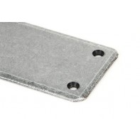 From The Anvil Pewter Fingerplate - Large