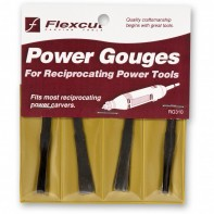 Flexcut 4 Piece Power Carving Detail Gouge Set