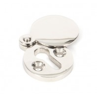 From The Anvil Polished Nickel Round Escutcheon