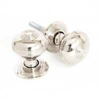 From The Anvil Prestbury Mortice Rim Knob Set - 50mm - Polished Nickel