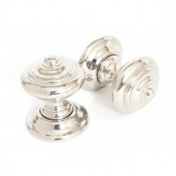 From The Anvil Elmore Concealed Mortice Knob Set - Polished Nickel