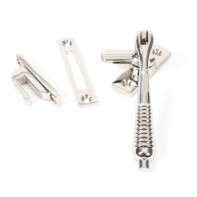 From The Anvil Polished Nickel Reeded Fastener