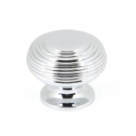 From The Anvil Polished Chrome 40mm Beehive Cabinet Knob