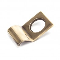 From The Anvil Polished Bronze Rim Cylinder Pull