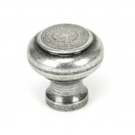From the Anvil Pewter Regency Cupboard Knob - Small