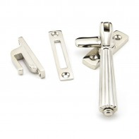 From The Anvil Polished Nickel Locking Hinton Fastener
