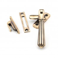 From The Anvil Polished Bronze Locking Hinton Fastener
