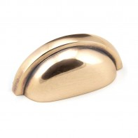 From The Anvil Polished Bronze Regency Concealed Drawer Pull