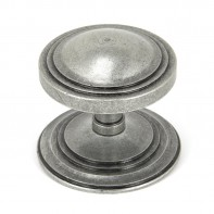 From the Anvil Pewter Art Deco Centre Door Knob