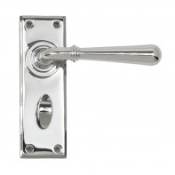 From the Anvil Polished Chrome Newbury Lever Bathroom Set