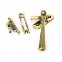 From the Anvil Aged Brass Locking Newbury Fastener