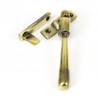 From the Anvil Aged Brass Night-Vent Locking Newbury Fastener