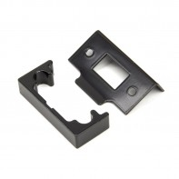 "From the Anvil Black ½"" Rebate Kit for Tubular Mortice Latch"