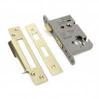 "From the Anvil PVD 2½"" Euro Profile Sash Lock"
