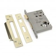 "From the Anvil PVD 3"" Euro Profile Sash Lock"