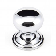 From The Anvil Polished Chrome 32mm Mushroom Cabinet Knob