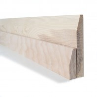 Ash Chamfered Skirting and Architrave