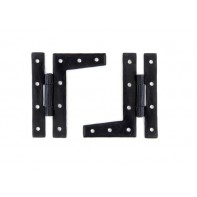 From The Anvil Black 3 1/4'' HL Hinge (pair)