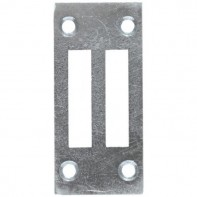 From The Anvil Satin Stainless Steel Ventable Keep Plate (Stand Alone)