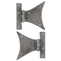 From The Anvil Pewter 3 1/4'' Half Butterfly Hinge (pair)