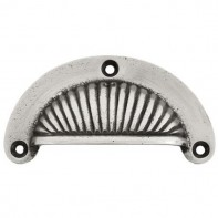 From The Anvil Natural Smooth Sunrise Drawer Pull