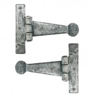 From The Anvil Pewter Patina T Hinge 4inch (pair)